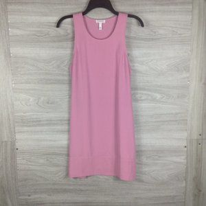 Leith Pink Racerback Shift Dress